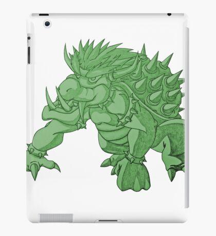 Super Saiyan Bowser (Green Tint) iPad Case/Skin