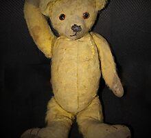 80 Year Old Teddy Bear by Vickie Emms