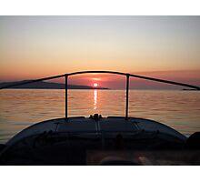 Fisherman's Sunrise Photographic Print