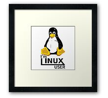I'm Linux User Framed Print