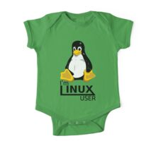 I'm Linux User One Piece - Short Sleeve
