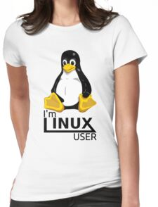 I'm Linux User Womens Fitted T-Shirt