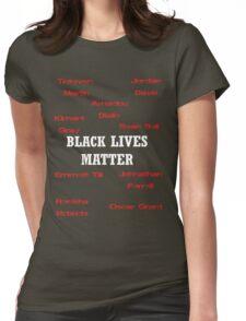 Black Lives Matter Womens Fitted T-Shirt