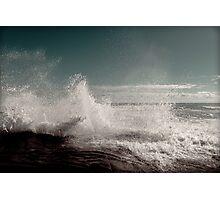 Fresh Ocean Splash ! Photographic Print