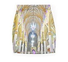 Colombia inside a Cathedral Mini Skirt
