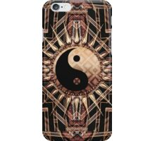 Black Gold Art Deco New Age fusion v2 iPhone Case/Skin