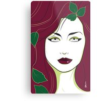 Poison Ivy - Nagel Style Metal Print