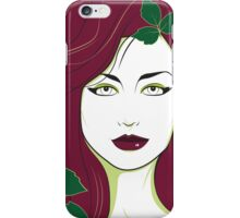 Poison Ivy - Nagel Style iPhone Case/Skin