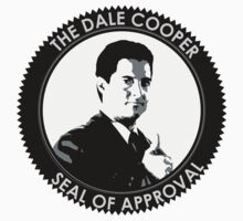 The Dale Cooper Seal Of Approval Kids Tee