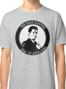 The Dale Cooper Seal Of Approval Classic T-Shirt