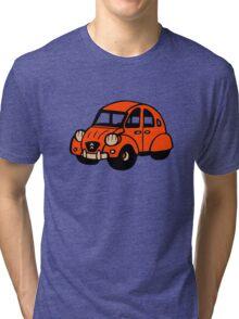 2cv vintage french car citroen Tri-blend T-Shirt