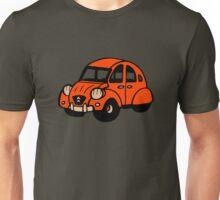 2cv vintage french car citroen Unisex T-Shirt