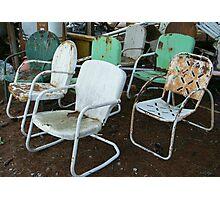 Sit Around Much? Photographic Print