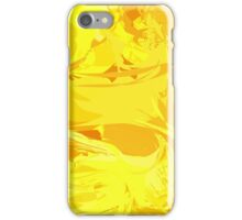 Yellow Abstract iPhone Case/Skin