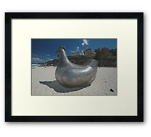 Chicken @ Sculptures By The Sea 2010 Framed Print