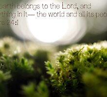 Psalm 24:1 by mugarl