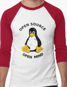 Open Source Open Mind Men's Baseball ¾ T-Shirt