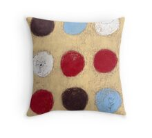 The bird, the flower and the cloud Throw Pillow