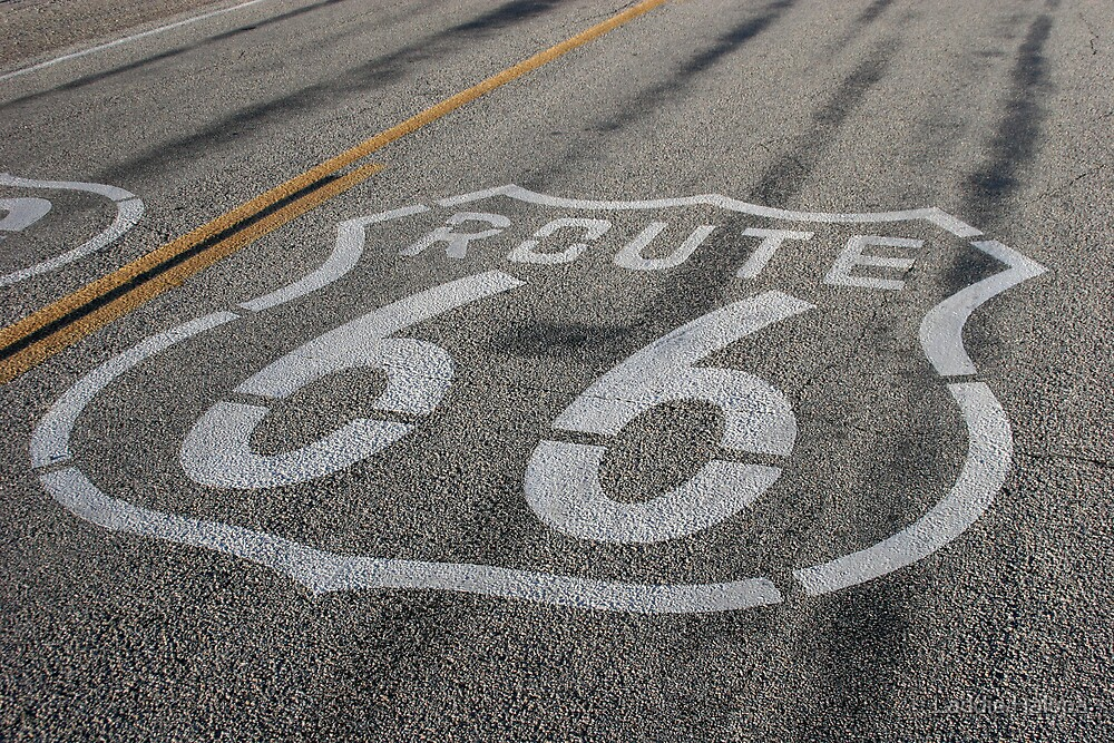 Route 66 by Laddie Halupa