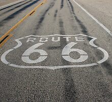 Route 66 # 2 by Laddie Halupa