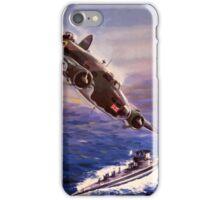 Lockheed HUDSON WW2 Reproduction Propaganda Poster World War 2  iPhone Case/Skin