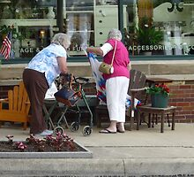 Shopping Uptown by Bea Godbee