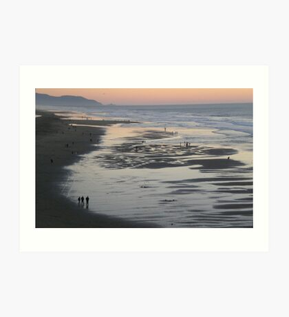 San Francisco, Ocean Beach Art Print