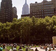 union square park by anton smith