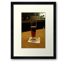 Shiner Framed Print