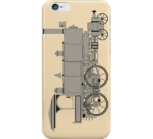 Old steam locomotive iPhone Case/Skin