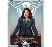 I Know My Value iPad Case/Skin