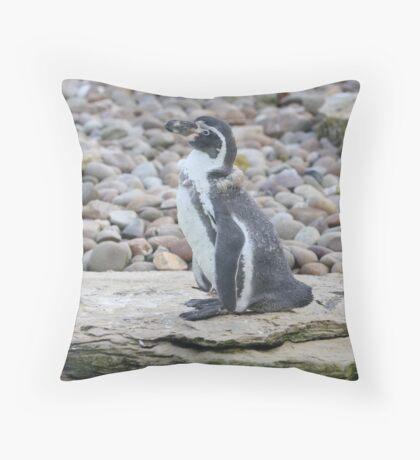 ppp-penguin Throw Pillow