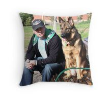pete and mac Throw Pillow