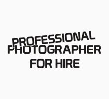 Professional Photographer for Hire Kids Clothes