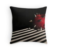 Appearances Can Be Deceiving Throw Pillow