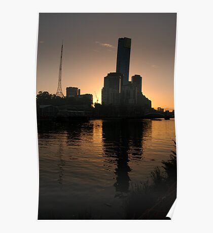 City Silhouette Poster