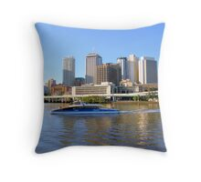 Brisbane Riverside......Australia Throw Pillow