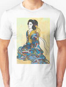 Sitting Geisha Unisex T-Shirt