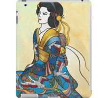 Sitting Geisha iPad Case/Skin