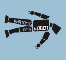 Anatomy of a Robot One Piece - Short Sleeve