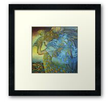 chimera, the sound of the thunder Framed Print