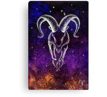 Horoscope: Aries Canvas Print