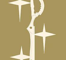 Kill La Kill Scissorblade Classy Gold by MaxiLichtblau