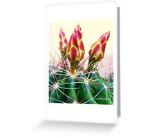 Cactus Promise Greeting Card