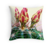 Cactus Promise Throw Pillow