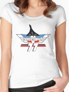Concorde '77 Women's Fitted Scoop T-Shirt
