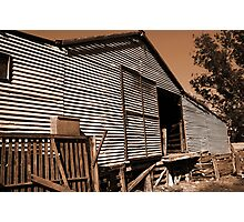 The Shearing Shed Photographic Print