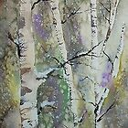 Winter Birch by Matt Moberly