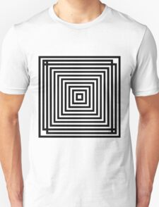 Square Op Art Unisex T-Shirt