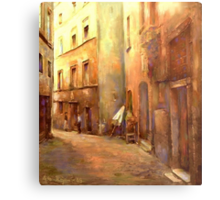 A Moment in Rome Metal Print